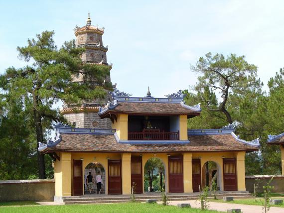 Pagode vietnamienne