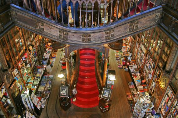 Bibliothèque Lello (photo d'Alegna13)