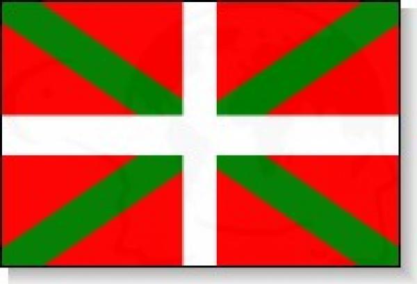 Pays basque espagnol - Coloriage drapeau espagnol ...