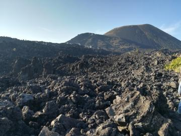 L'ascension du volcan Paricutín
