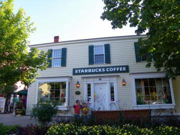 Boutique Starbucks Coffee