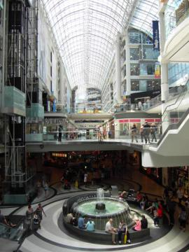 Un mall canadien