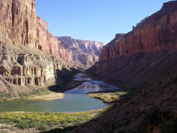 Les falaises du Grand Canyon