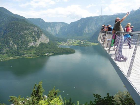 Panorama sur Hallstattersee