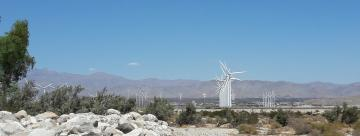 Palm Springs Eoliennes