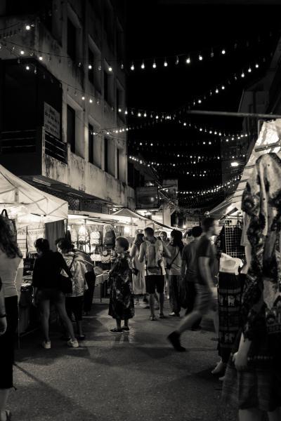 Marché nocturne de Chiang Rai
