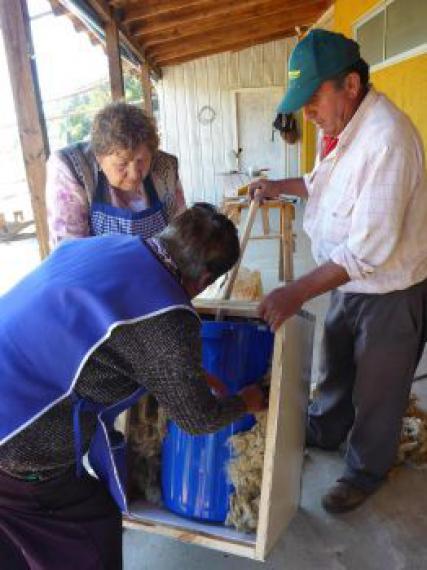 Mission construction de douches solaires au chili chili - Construire une douche solaire ...