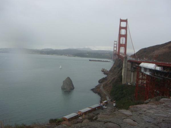 Golden Gate Bridge Monument San Francisco Vos Avis